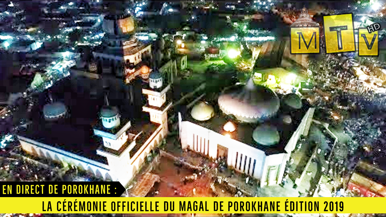En direct de Porokhane : La Cérémonie officielle du Magal de Porokhane Édition 2019